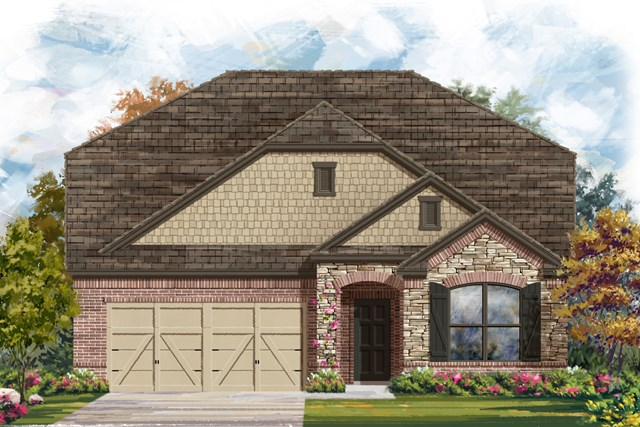 New Homes in San Antonio, TX - The 2655 C