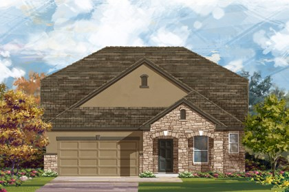 New Homes in New Braunfels, TX - The 2655 D
