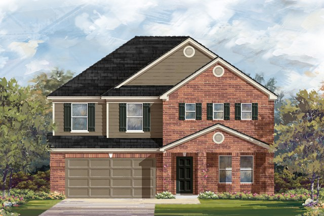 New Homes in San Antonio, TX - The 2881 B