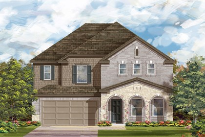 New Homes in Bulverde, TX - The 2881 C