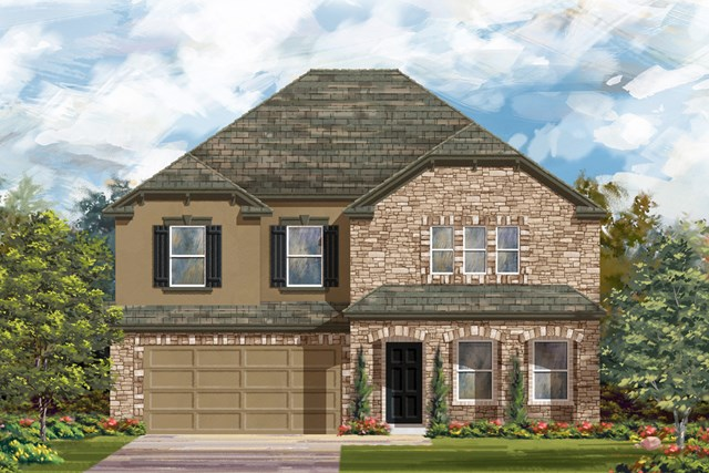 New Homes in San Antonio, TX - The 2881 D