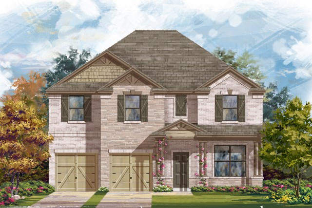 New Homes in San Antonio, TX - The 3125 C
