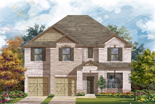New Homes in Boerne, TX - The 3125 C