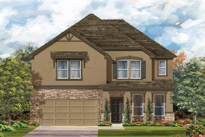 New Homes in Bulverde, TX - The 3417 D