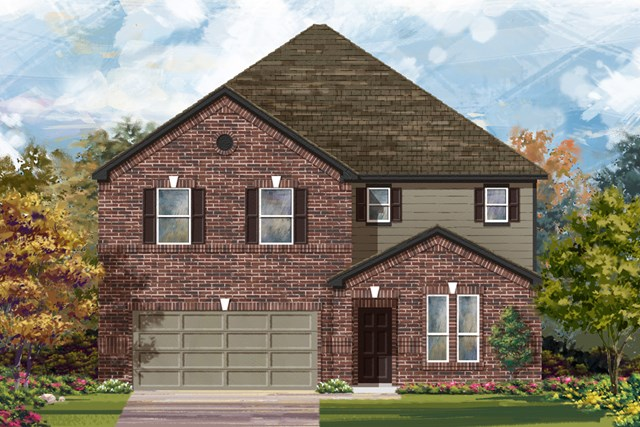 New Homes in San Antonio, TX - The 3475 A