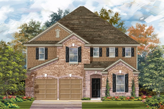 New Homes in San Antonio, TX - The 3475 C