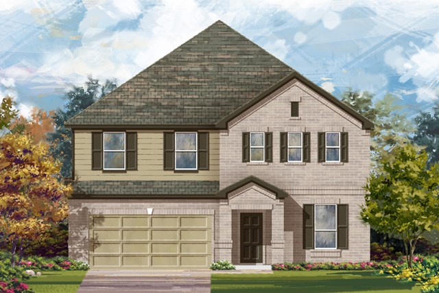 New Homes in New Braunfels, TX - The 3699 A