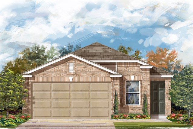 New Homes in San Antonio, TX - Elevation C