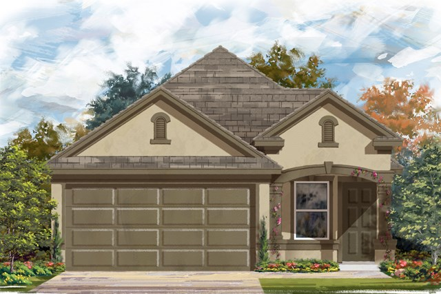 New Homes in New Braunfels, TX - The 1340 D