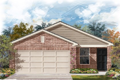 New Homes in San Antonio, TX - The 1353 C