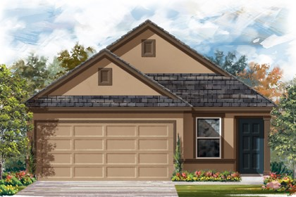 New Homes in San Antonio, TX - The 1353 D