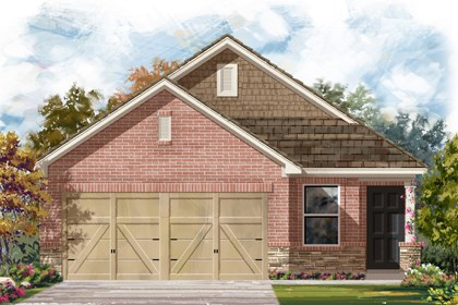 New Homes in San Antonio, TX - The 1353 E