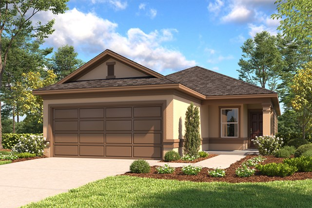 New Homes in San Antonio, TX - The 1378 D