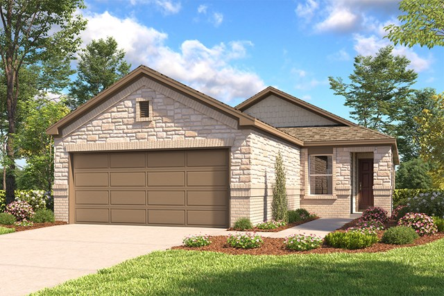 New Homes in San Antonio, TX - The 1378 E