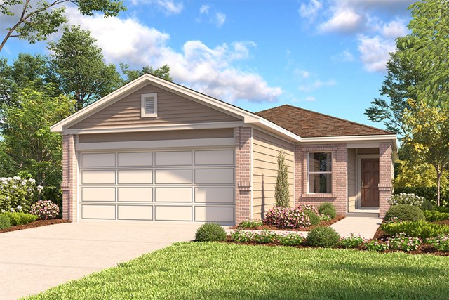 New Homes in San Antonio, TX - The 1417 B