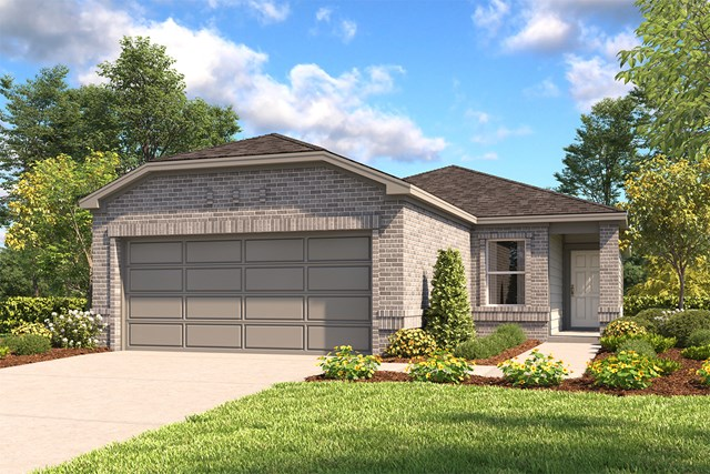 New Homes in San Antonio, TX - The 1417 C