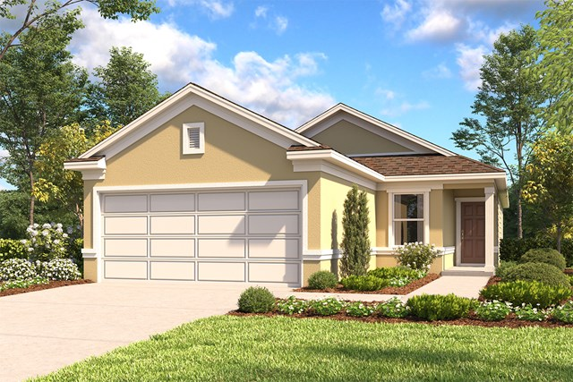 New Homes in San Antonio, TX - The 1417 D