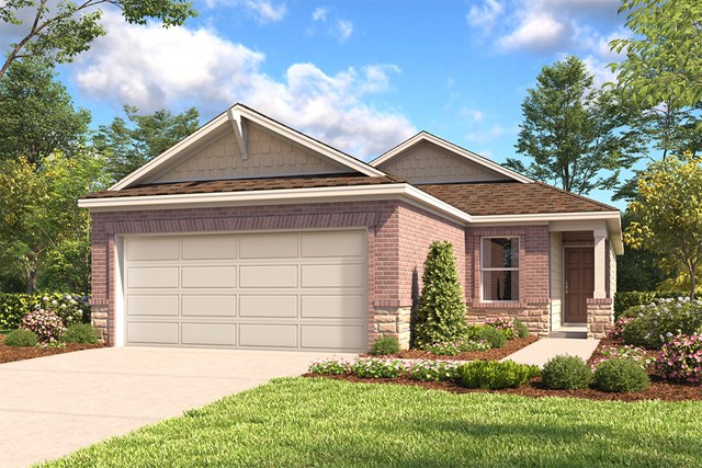 New Homes in San Antonio, TX - The 1417 E