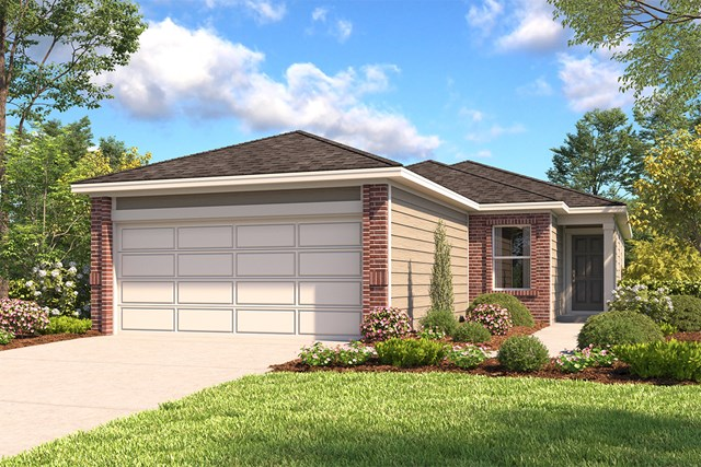 New Homes in San Antonio, TX - The 1549 B