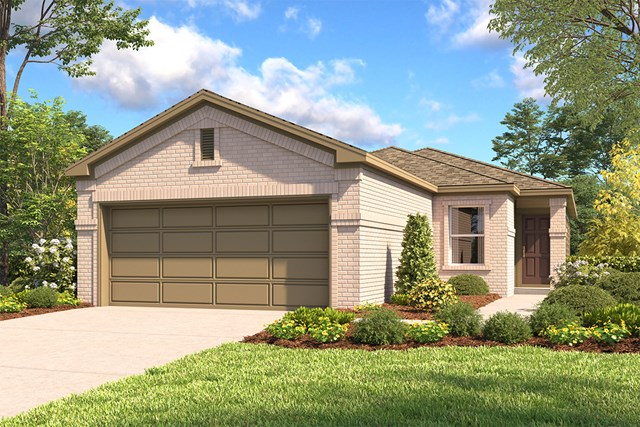 New Homes in San Antonio, TX - The 1549 C
