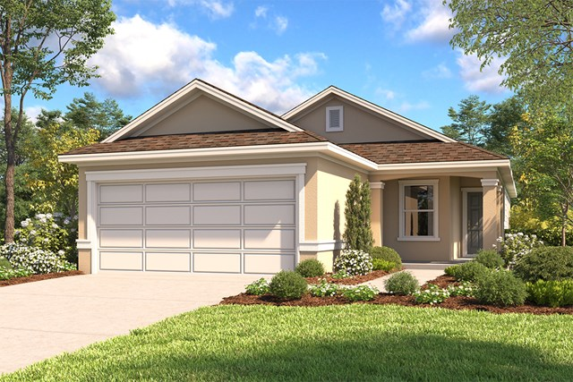 New Homes in San Antonio, TX - The 1549 D