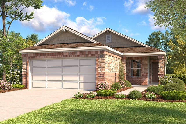 New Homes in San Antonio, TX - The 1549 E