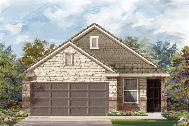 New Homes in San Antonio, TX - Elevation E
