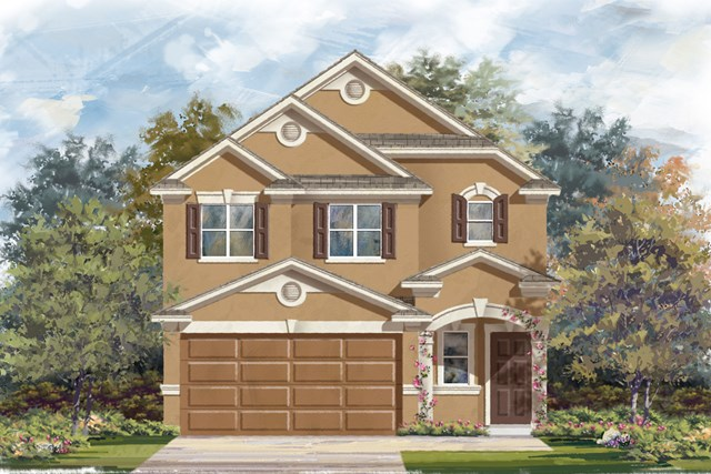 New Homes in San Antonio, TX - Plan 1601 D