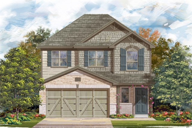 New Homes in San Antonio, TX - Plan 1601 E