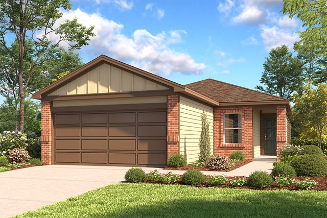 New Homes in San Antonio, TX - The 1602 B