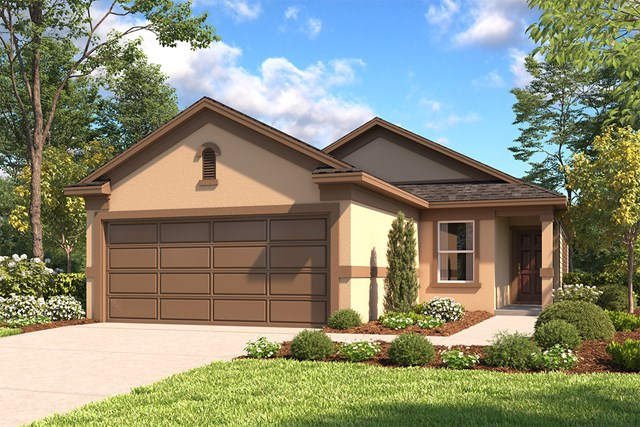 New Homes in San Antonio, TX - The 1602 D