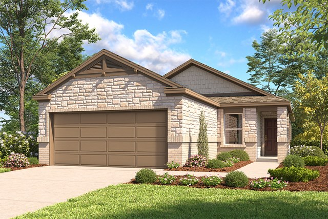 New Homes in San Antonio, TX - The 1602 E