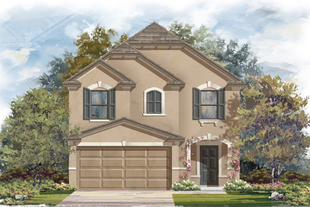 New Homes in San Antonio, TX - The 1771 D