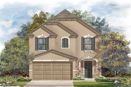 New Homes in San Antonio, TX - Plan 1771 D