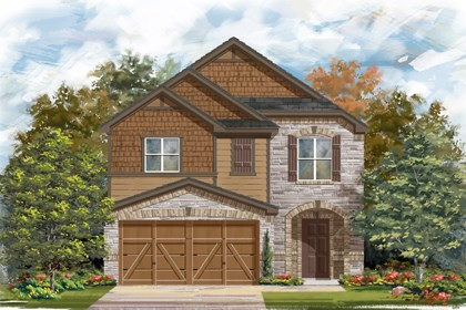 New Homes in San Antonio, TX - Plan 1771 E