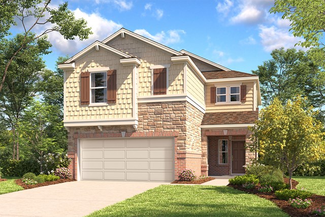 New Homes in San Antonio, TX - The 1772 E