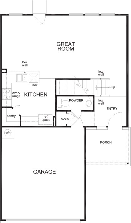 New Homes in San Antonio, TX - Plan 1772, First Floor