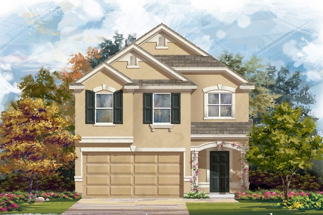 New Homes in New Braunfels, TX - Plan 1909 D