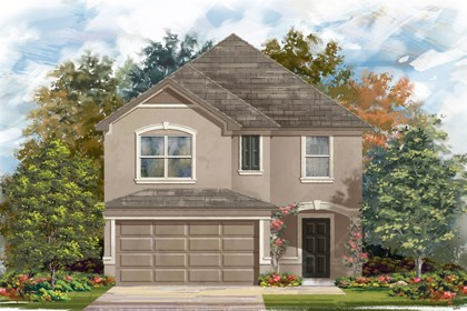 New Homes in San Antonio, TX - The 2038 D