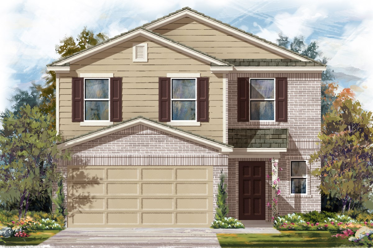 New Homes in San Antonio, TX - Madera and Clearcreek Plan 2239