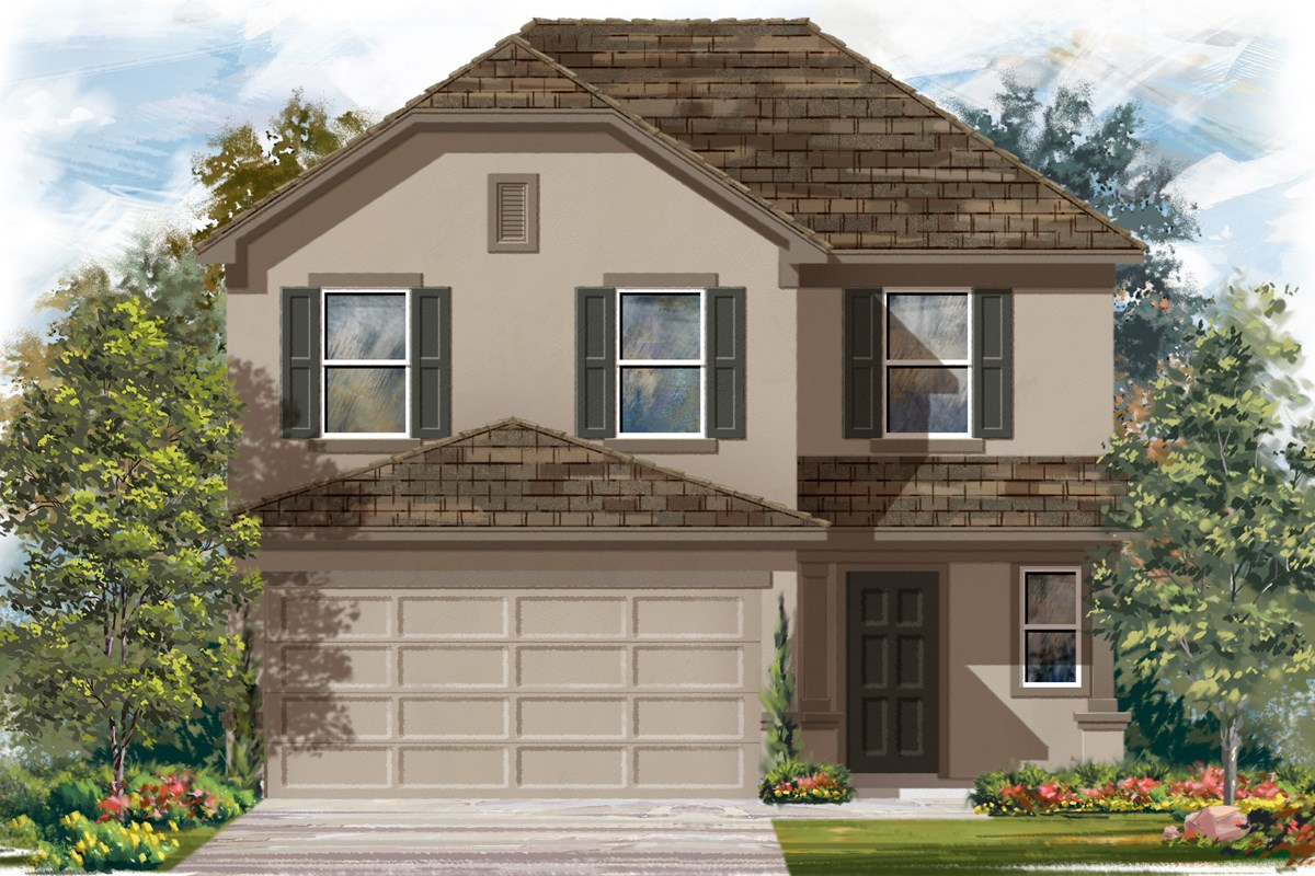 New Homes in San Antonio, TX - Madera Plan 2239