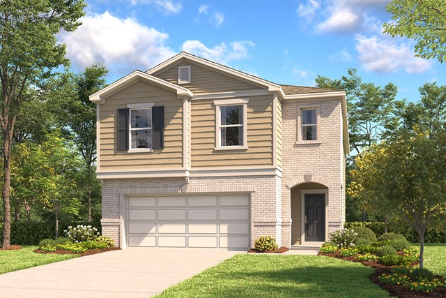 New Homes in Schertz, TX - Elevation C
