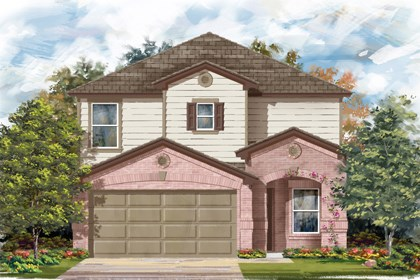 New Homes in San Antonio, TX - The 2411 C