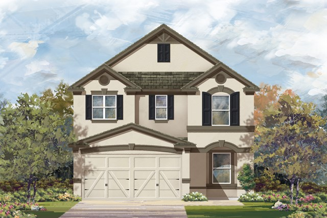New Homes in San Antonio, TX - The 2411 D
