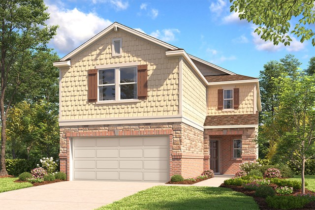 New Homes in San Antonio, TX - The 2450 E