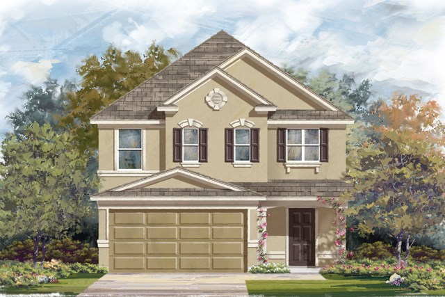 New Homes in San Antonio, TX - The 2488 D