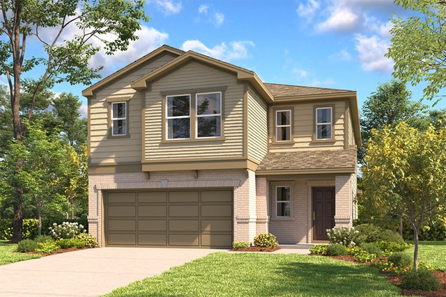 New Homes in San Antonio, TX - The 2519 C