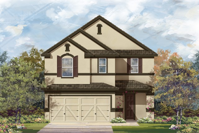 New Homes in San Antonio, TX - Plan 2708 D