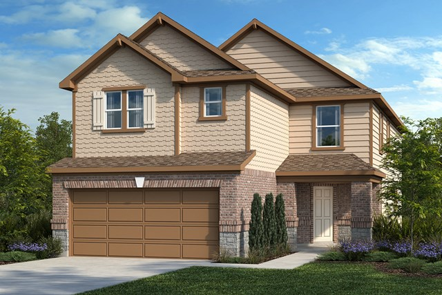 New Homes in San Antonio, TX - Plan 2708 E
