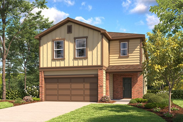 New Homes in San Antonio, TX - The 2745 B